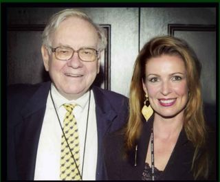 Warren Buffett, The Wizard, and Lorre White, The Luxury Guru.