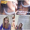 Lorre White -  feature cover picture portugal's #1 news paper