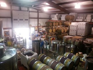 Cardinal Point wines processing