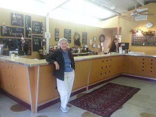 Cardinal point tasting room