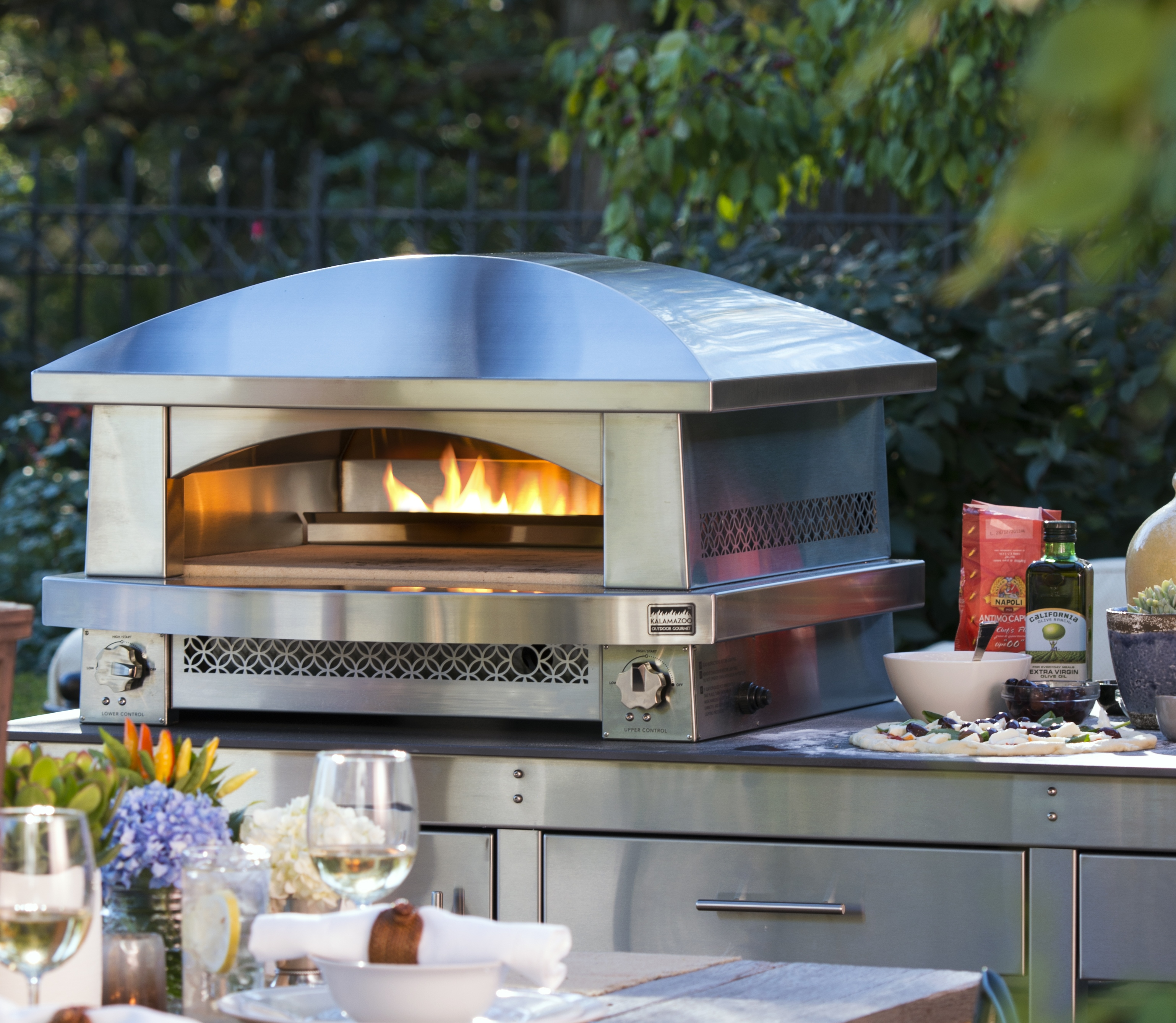 lorre white the guru of luxury artisan fire pizza oven for 2014