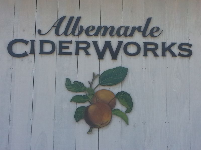 Cider Works sign