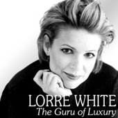 Lorre White The Luxury Guru Blk & Wht