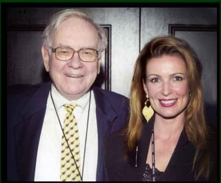 Warren Buffett and Luxury Guru, Lorre White at his country club