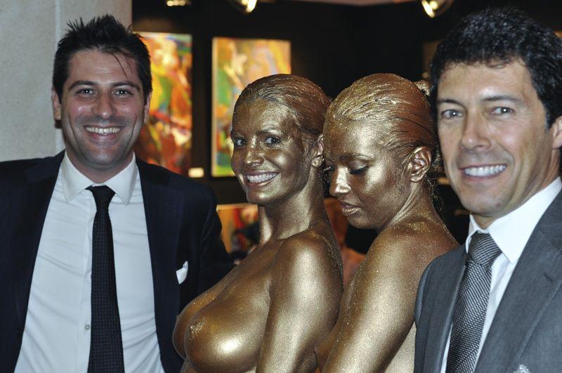 Art Monaco body paint