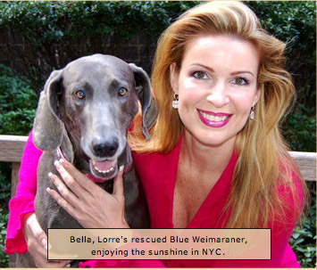 Bella and <b>Lorre White</b> in NYC - bella_w_lw