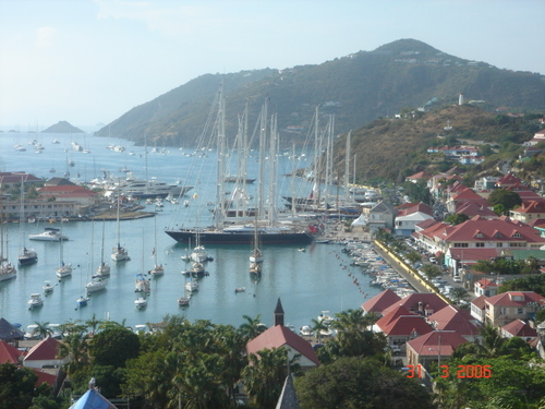 Lorre loves the Bucket Regatta in St Barts in March