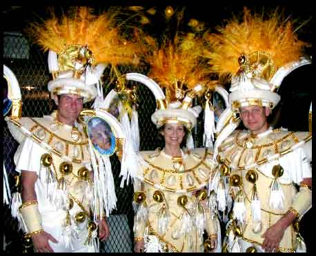 Lorre White at Carnival, Brazil