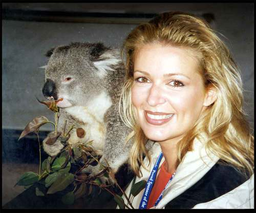Lorre White w/ Another Australian Friend